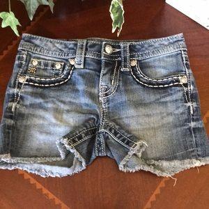 Miss Me Girls Jean Shorts